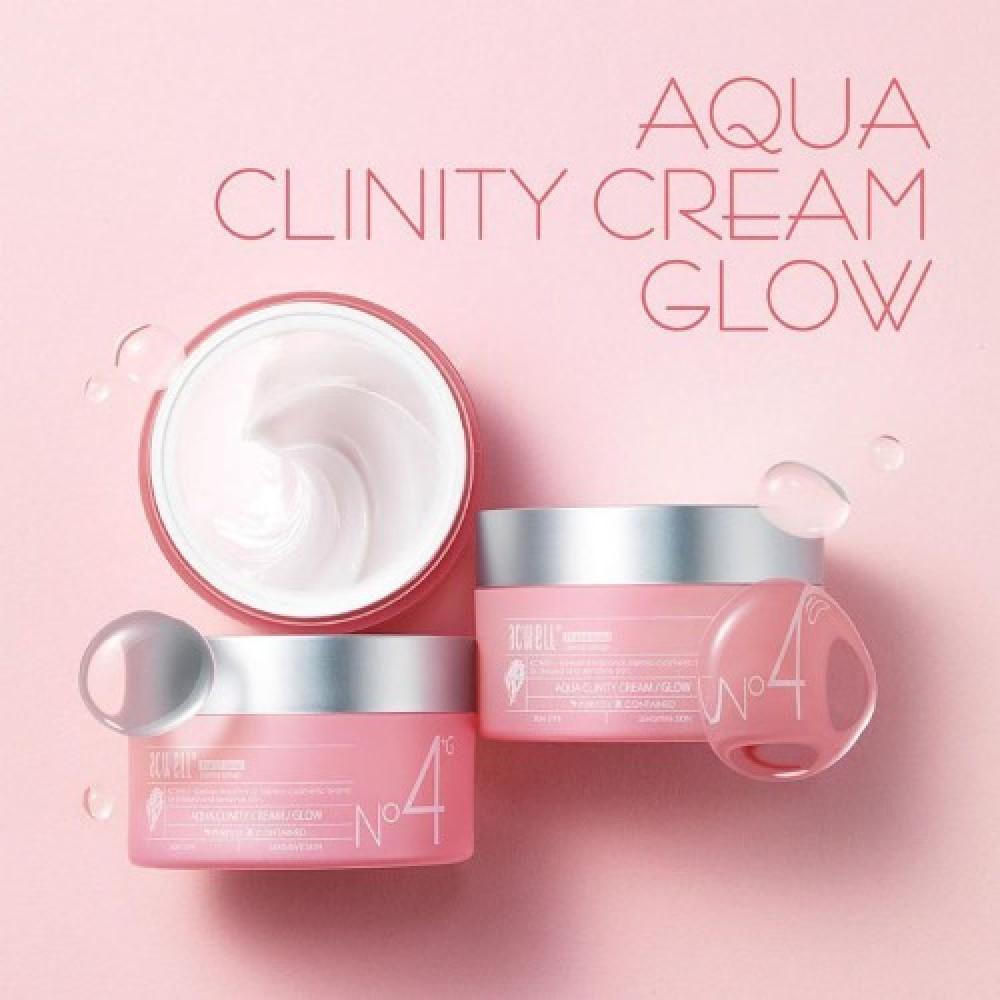Acwell Aqua Clinity Cream Glow №4 Увлажняющий крем для сияния кожи
