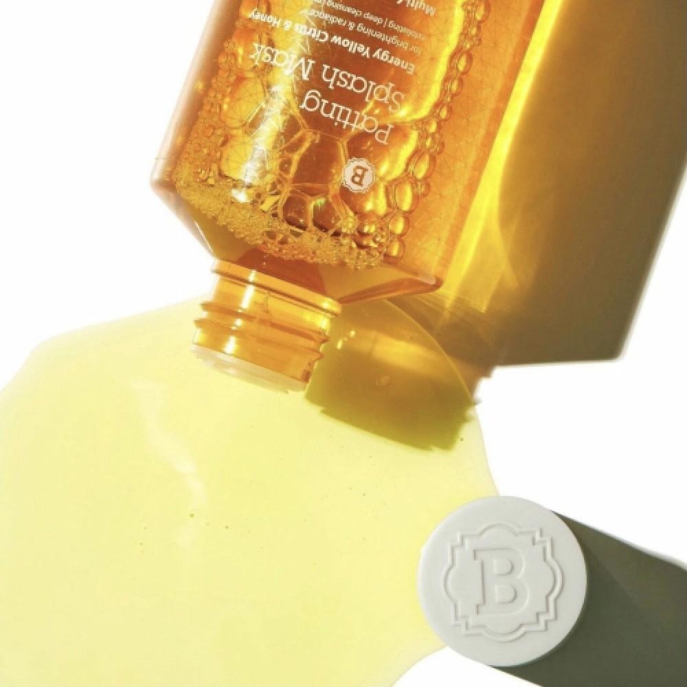 Blithe Patting Splash Mask Energy Yellow Citrus & Honey Тонизирующая сплэш-маска для сияния кожи