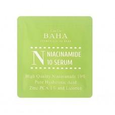 Cos De BAHA Niacinamide 10 Serum. Sample 1 ml Сыворотка с ниацинамидом 10% и цинком 1%, Пробник