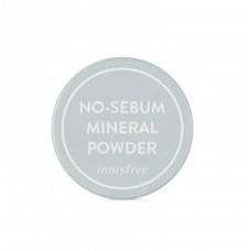 Innisfree No Sebum Mineral Powder Бесцветная рассыпчатая пудра с минералами