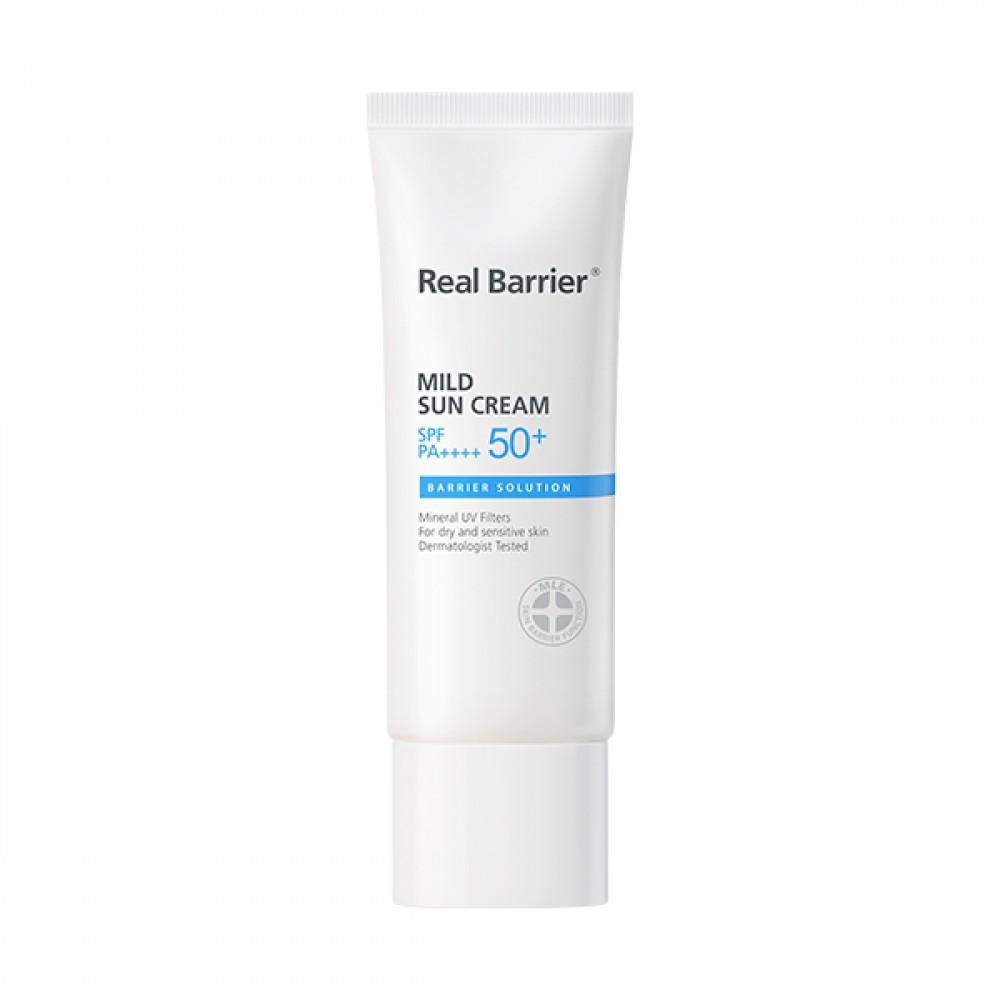 Real Barrier Mild Sun Cream SPF50+ PA++++ Мягкий солнцезащитный крем