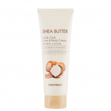TonyMoly Shea Butter Chok Chok Face & Body Cream Питательный крем для лица и тела с маслом ши
