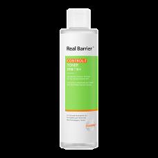 Real Barrier Control-T Toner Освежающий тонер для жирной кожи