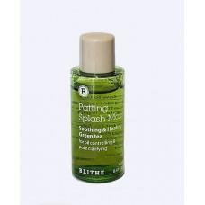 Blithe Patting Splash Mask Soothing & Healing Green Tea (Miniature 14 ml) Успокаивающая и оздоравливающая сплэш-маска с экстрактом зеленого чая. Миниатюра 14 мл.