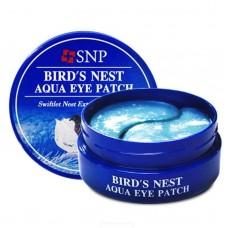 SNP Bird's Nest Aqua Eye Patch Гидрогелевые патчи для век с экстрактом ласточкиного гнезда