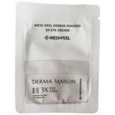 MEDI-PEEL Derma Maison 3X Eye Cream Sample Крем под глаза со стволовыми клетками и пептидами. Пробник 1,5 гр