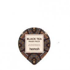 Heimish Black Tea Mask Pack Sample 5 ml Маска тонизирующая и успокаивающая с черным чаем против отеков. Пробник 5 мл