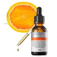 CIRACLE Vitamin Source C-20 Концентрированная ампульная сыворотка для лица с витамином С