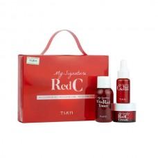 Tiam My Signature Red C Trial Kit Мини- набор с витамином С для осветления кожи