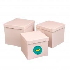 Подарочный Корея-BOX (пустая коробка с наполнителем). Светло-розовый Собери лучший бьюти-бокс САМА!