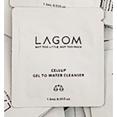 Lagom Cellup Gel To Water Cleanser Sample 1 ml Гель для умывания. Пробник 1 мл