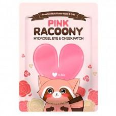 SECRET KEY Pink Racoony Hydro-Gel Eye & Cheek Patch 3 pcs Гидрогелевые патчи для глаз и щек. 3 шт