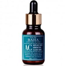 Cos De Baha Acne Treatment Serum with  Azelaic acid 5%, Niacinamide 10% Сыворотка для проблемной кожи с азелаиновой кислотой 5% и ниацинамидом 10%