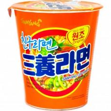 Samyang Ramen Beef flavour (Cup) Лапша-рамен со вкусом говядины. Стакан