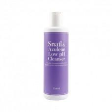 TIAM Snail & Azulene Low pH Cleanser Слабокислотный гель для умывания с муцином
