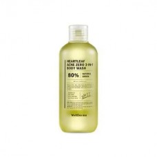 Wellderma Heartleaf Acne Zero 3-in-1 Body Wash 250 ml