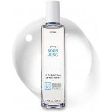 ETUDE HOUSE SoonJung pH 5.5 Relief Toner 200 ml Гипоаллергенный тонер для чувствительной кожи, 200 мл