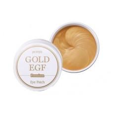 Petitfee Premium Gold & EGF Eye Patch Гидрогелевые патчи с золотом и EGF (60 шт) каплевидные