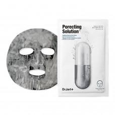 Dr. Jart ULTRA JET Porecting Solution Dermask Очищающая и сужающая поры пузырьковая тканевая маска