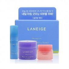Laneige Good Night Kit (3 Items) Мини-набор средств для ночного ухода
