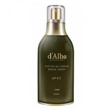 D'Alba Peptide No-Sebum Repair Cream Балансирующий крем с пептидами и белым трюфелем